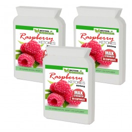 Raspberry Ketone 600mg (180) Capsules