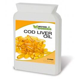 Cod Liver Oil 1000mg (50) Capsules