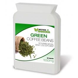 Green Coffee Bean Extract 50% CGA 1000mg (90) Capsules