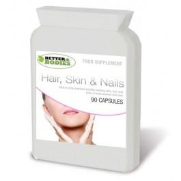 Hair, Skin & Nails Formula (90) Capsules