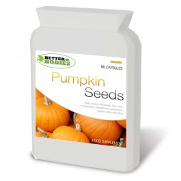 Pumpkin Seed Oil 2000mg (90) Capsules