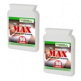 T6 X-Treme Max Fat Burners (180) Capsules