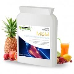 MSM 1000mg (60) Tablets