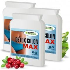 Detox Max™  Colon Cleanse (180) Capsules (Best value pack)