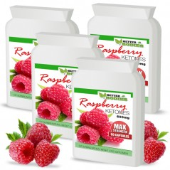 Raspberry Ketone 600mg Capsules (4 month supply)