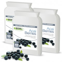 Pure Acai Berry 1000mg Capsules (3 month supply)