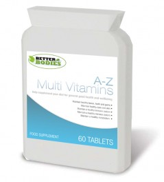 A-Z Multi Vitamins (60) Tablets