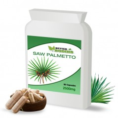 Saw Palmetto 2500mg (90) Capsules