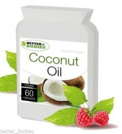 Organic Virgin Coconut Oil 1000mg (60) capsules
