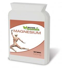 Magnesium 100mg (180) Tablets
