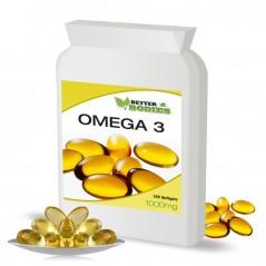Omega 3 Fish Oil 1000mg (90) Capsules