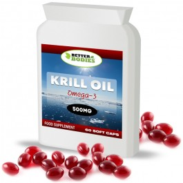 Superba Red Krill Oil 500mg (60) Capsules