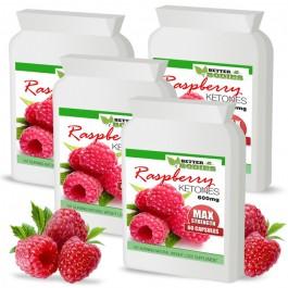 Raspberry Ketone 600mg Capsules (4 month supply)