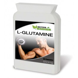 L-Glutamine 850mg (60) Capsules