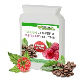 Raspberry Ketone & Green Coffee Bean Extract Complex™ (60) Capsules