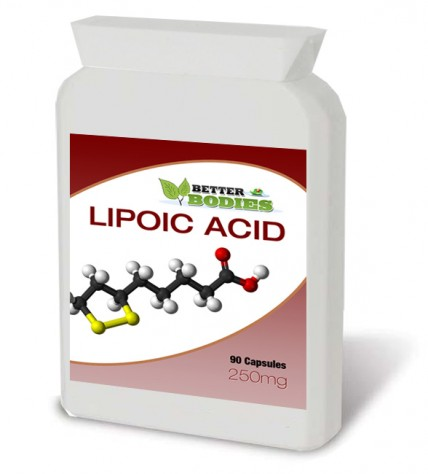 Alpha Lipoic Acid 250mg (90) Capsules