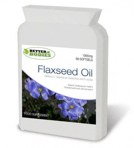Flaxseed Oil 1000mg (60) Softgels