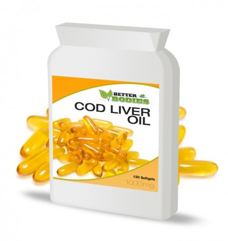 Cod Liver Oil 1000mg (120) Capsules