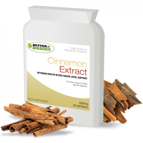 Cinnamon Extract (90) Tablets