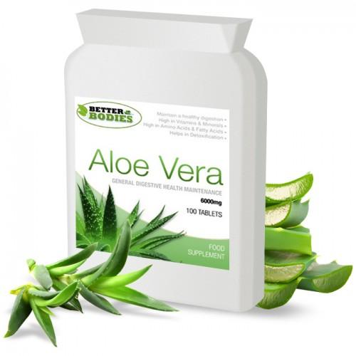 Aloe Vera 6000mg (100) Tablets