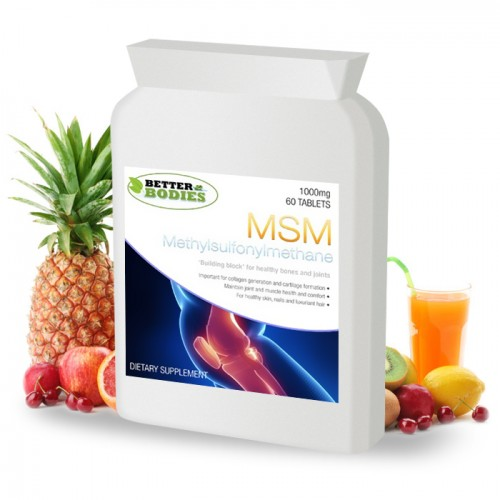 MSM 1000mg (60) Tablets