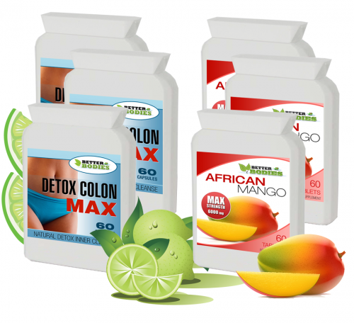 Pure African Mango detox package (3 month supply)