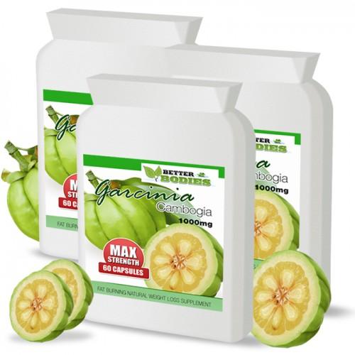 Pure Garcinia Cambogia 1000mg (3 month supply)