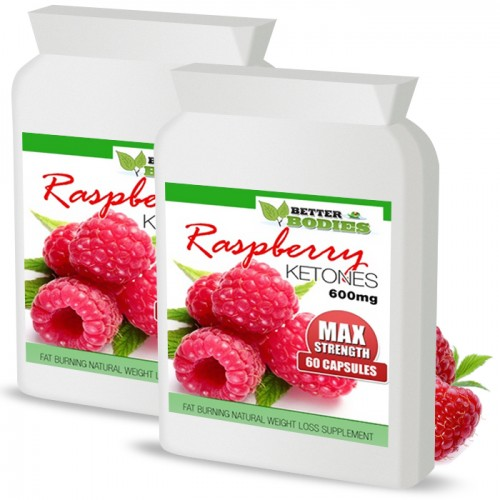 Raspberry Ketone 600mg (120) Capsules