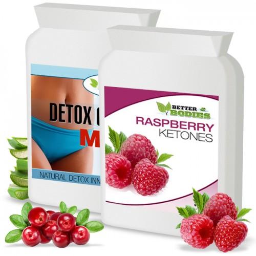 Raspberry Ketone (60) & Detox Max™  Colon Cleanse (60) Combo Pack