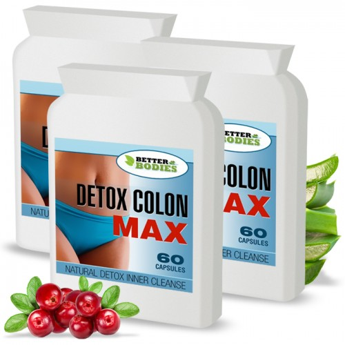 Detox Max™  Colon Cleanse (180) Capsules (Best value pack)