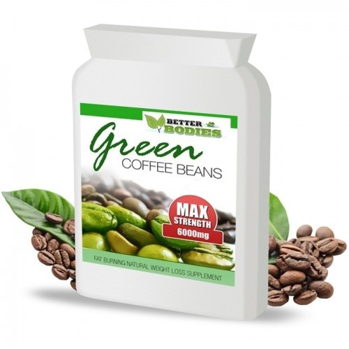 Green Coffee Bean Extract 6000mg 50% CGA (60) Capsules