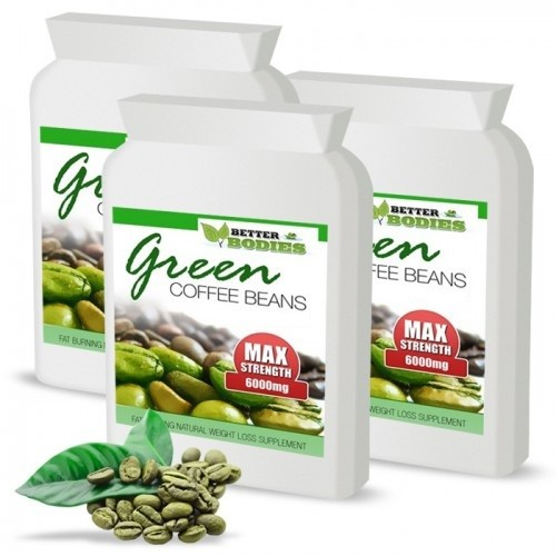 Green Coffee Bean Extract 6000mg 50% CGA 3 month supply (180 capsules)