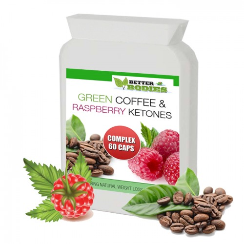 Raspberry Ketone & Green Coffee Bean Extract Complex™ (60) Capsules
