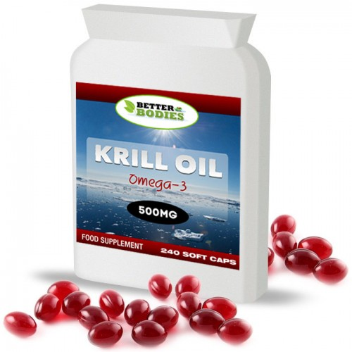 Superba Red Krill Oil 500mg (240) Capsules