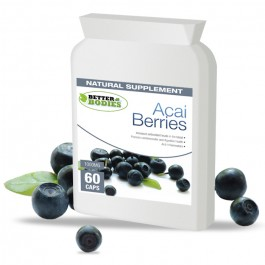 Pure Acai Berry 1000mg (60) Capsules