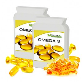 Omega 3 Fish Oil 1000mg (240) Capsules