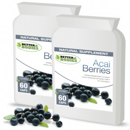 Pure Acai Berry 1000mg Capsules (2 month supply)