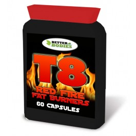 T8 Red Fire Fat Burners (60) Capsules
