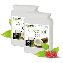 Organic Virgin Coconut Oil 1000mg (120) capsules