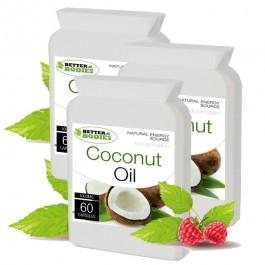 Organic Virgin Coconut Oil 1000mg (180) capsules