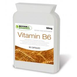 Vitamin B6 50mg (90) Capsules