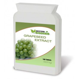 Grapeseed Extract 50mg (180) Tablets
